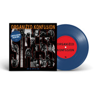 Organized Konfusion - Stress Large Pro Remix Blue Vinyl Edition