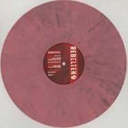 Miss Djax - Feeder / Techno Crusaders Pink & Black Mixed Vinyl Edition