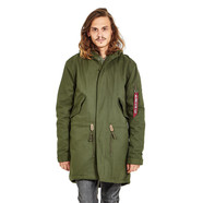 Alpha Industries - Hooded Fishtail Parka
