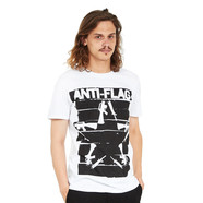 Anti-Flag - Duct Tape Gun Star T-Shirt