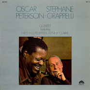 Oscar Peterson - Stéphane Grappelli Quartet - Oscar Peterson - Stephane Grappelli Quartet Vol. 2