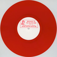 Prince Buster - Message To The Black Man Chapter 1&2 Red Vinyl Edition