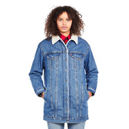 Levi's - Lengthened Sherpa Trucker Jacket