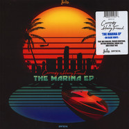 Curren$y & Harry Fraud - The Marina EP Blue Vinyl Edition