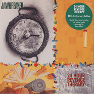 Jawbreaker - 24 Hour Revenge Therapy Blue With Black Swirl Vinyl Edition