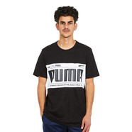 Puma - Graphic Logo Block Tee