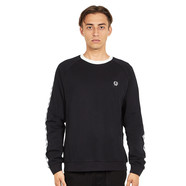 Fred Perry - Taped Crew Neck Sweatshirt