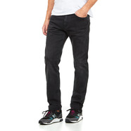 Edwin - ED-80 Slim Tapered Jeans CS Power Black Denim, 12.25 oz