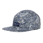 The Quiet Life - Liberty Paisley 5 Panel Camper Hat