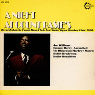 Count Basie's All Stars with Joe Williams - A Night At Count Basie's