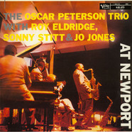 The Oscar Peterson Trio With Roy Eldridge / Sonny Stitt & Jo Jones - At Newport