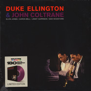 Duke Ellington & John Coltrane - Ellington & Coltrane Transparent Purple Vinyl Edition