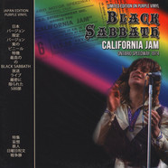 Black Sabbath - California Jam Ontario Speedway 1974 Purple Vinyl Edition