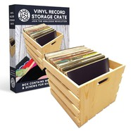 In Vinyl We Trust - Vinyl Record Storage Crate (60)