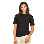 Fred Perry - Textured Branded T-Shirt