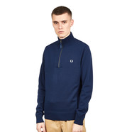 Fred Perry - Rib Insert Half Zip Jumper