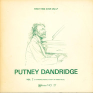 Putney Dandridge - A Chronological Study In Three Vols. - Vol. 2