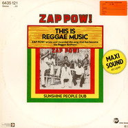Zap Pow - This Is Reggae Music