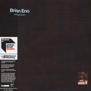 Brian Eno - Discreet Music Limited Half Speed Mastered Edition