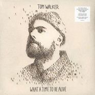 Tom Walker - What A Time To Be Alive Blue Vinyl Edition