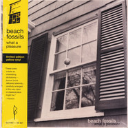 Beach Fossils - What A Pleasure Yellow Vinyl Edition