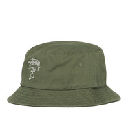 Stüssy - Warrior Man Bucket Hat
