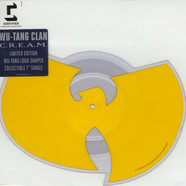Wu-Tang Clan - C.R.E.A.M. / Da Mystery Of Chessboxin Wu-Tang Logo Shaped Disc Ediiton