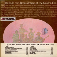 V.A. - Ballads And Breakdowns Of The Golden Era
