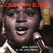 Solomon Burke - King Solomon & His Soul Music Gatefold Sleeve Edition