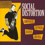 Social Distortion - Somewhere Between Heaven And Hell Coloured Vinyl Edition