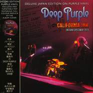 Deep Purple - California Jam With Turntable Mat