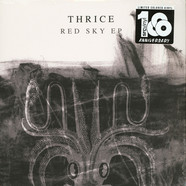 Thrice - Red Sky Clear / Black / White Marbled Vinyl Edition