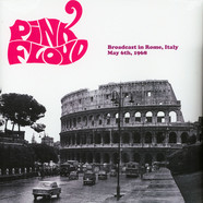 Pink Floyd - Broadcast In Rome 1968 Green Vinyl Edition