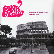 Pink Floyd - Broadcast In Rome 1968 Black Vinyl Version