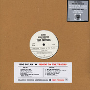 Bob Dylan - Blood On The Tracks - Original New York Test Pressing Record Store Day 2019 Edition