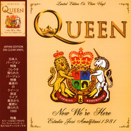 Queen - Killer Queens - Estadio Jose Amalfitani 1981 Part 2 Clear Vinyl Edition