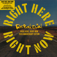 Fatboy Slim - Right Here, Right Now Remixes Die-cut Yellow Vinyl Record Store Day 2019 Edition
