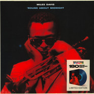 Miles Davis - Round About Midnight Transparent Blue Vinyl Edition
