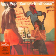 Iggy Pop - Zombie Birdhouse Limited Orange Vinyl Edition