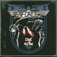 Enforcer - Live By Fire Splattered Vinyl Edition
