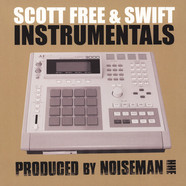 Scott Free & Swift - Instrumentals Splattered Vinyl Edition