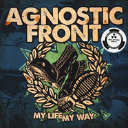 Agnostic Front - My Life My Way Splatter Vinyl Edition