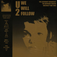 U2 - We Will Follow : 1983 Boston Broadcast Gold Vinyl Edition