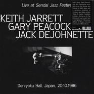 Keith Jarrett - Live At Sendai Jazz Festival Japan 1986