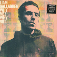 Liam Gallagher - Why Me? Why Not. Coke Bottle Clear Vinyl Edition