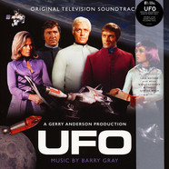 Barry Gray - OST Ufo: Original TV Soundtrack Colored Vinyl Edition