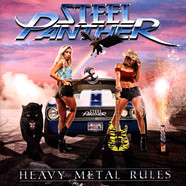 Steel Panther - Heavy Metal Rules Electric Blue Vinyl
