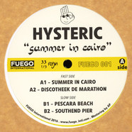Hysteric - Summer In Cairo Yellow Vinyl Edition