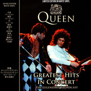 Queen - Greatest Hits In Concert White Vinyl Edition