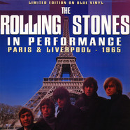 Rolling Stones, The - In Performance - Paris & Liverpool 1965 Blue Vinyl Edition